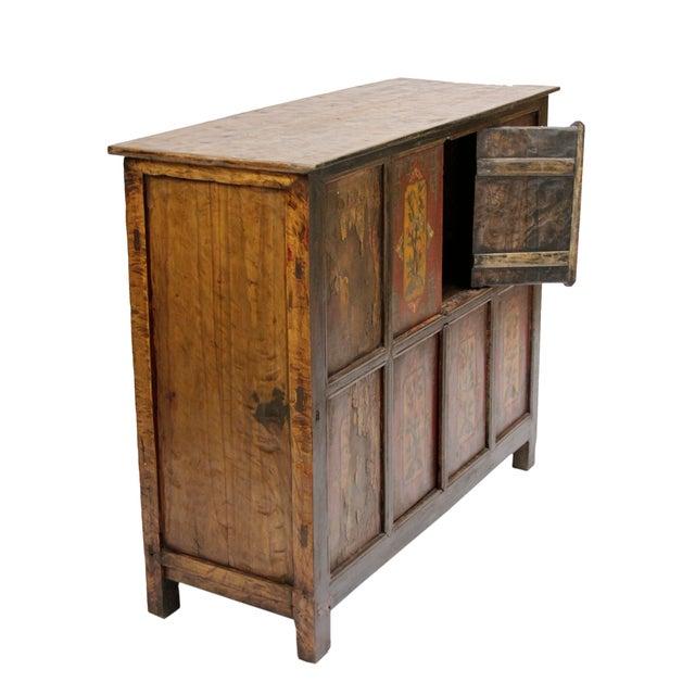 19th Century Tibetan Cabinet - Image 2 of 2