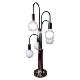 Robert Sonneman Chrome Table Lamp