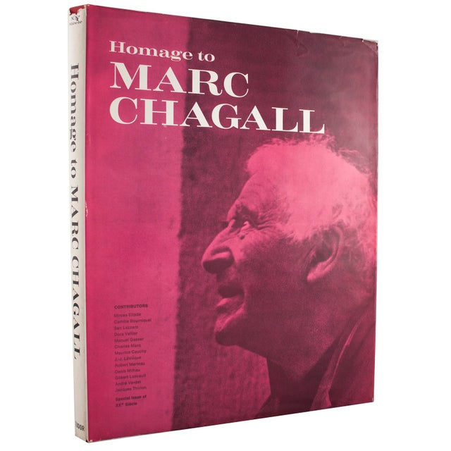 Surrealism Marc Chagall, Book, 1969 For Sale - Image 3 of 3