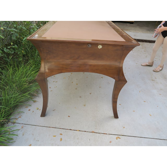 2000 - 2009 American Classical Rose Tarlow Cyrano Writing Desk For Sale - Image 5 of 6
