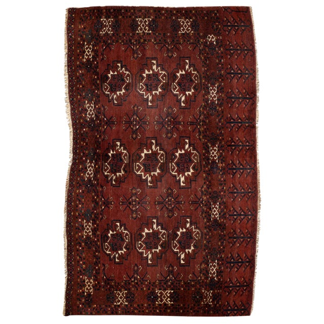 """Antique Tribal Rug, 3'1"""" X 5'4"""" For Sale"""