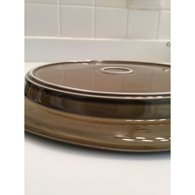 Ceramic Mid-Century Arabia Finland Kosmos Platter by Gunvor Olin-Gronqvist For Sale - Image 7 of 9