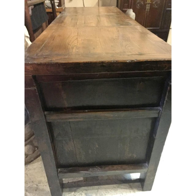 Antique Solid Wood Chest of Drawers For Sale - Image 10 of 11