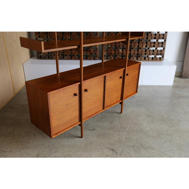 Mid 20th Century Milo Baughman for Glenn of California Wall Unit For Sale - Image 5 of 11