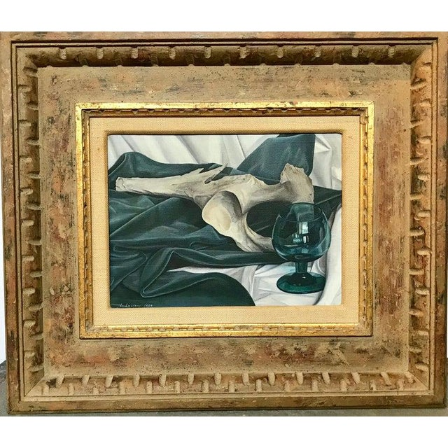 Mid 20th Century Luigi Lucioni Oil on Canvas Still Life For Sale - Image 5 of 9