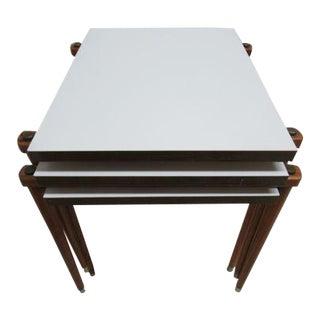 Danish Modern Nesting Tables - Set of 3