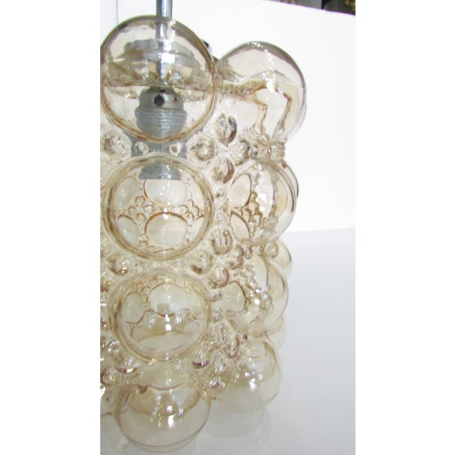 Modern Tynell Bubble Glass Pendant Light For Sale - Image 3 of 3