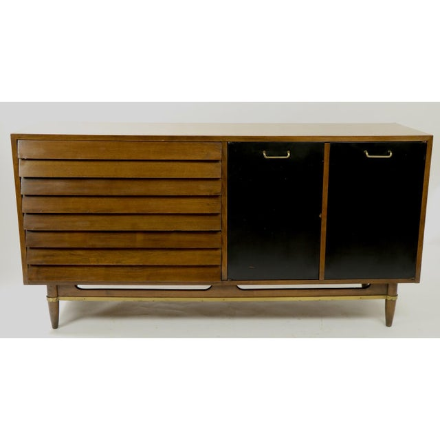Vintage Merton Gershun for American of Martinsville Diana Dresser For Sale - Image 11 of 12