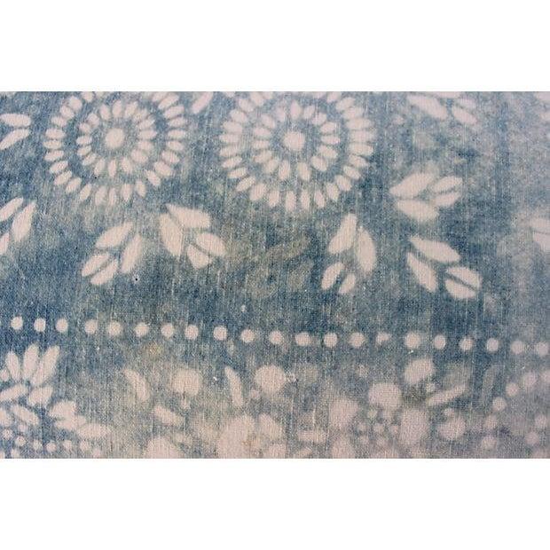 Faded Indigo Batik Body Pillow - Image 5 of 6