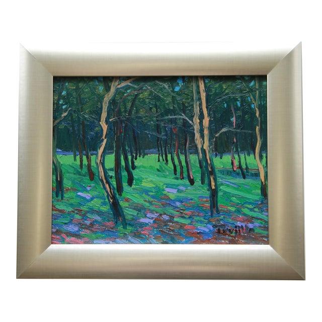 Jose Trujillo Impressionist Landscape Oil Painting - Image 1 of 3