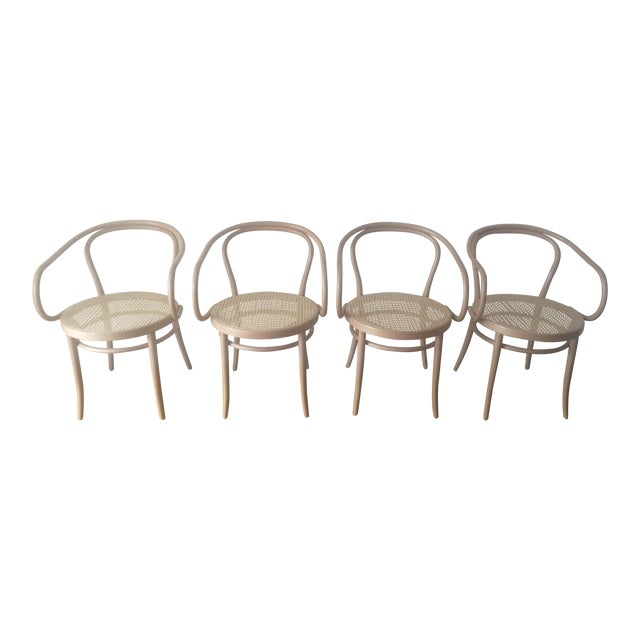 Thonet B9 Cane Armchairs - Set of 4 - Image 1 of 5