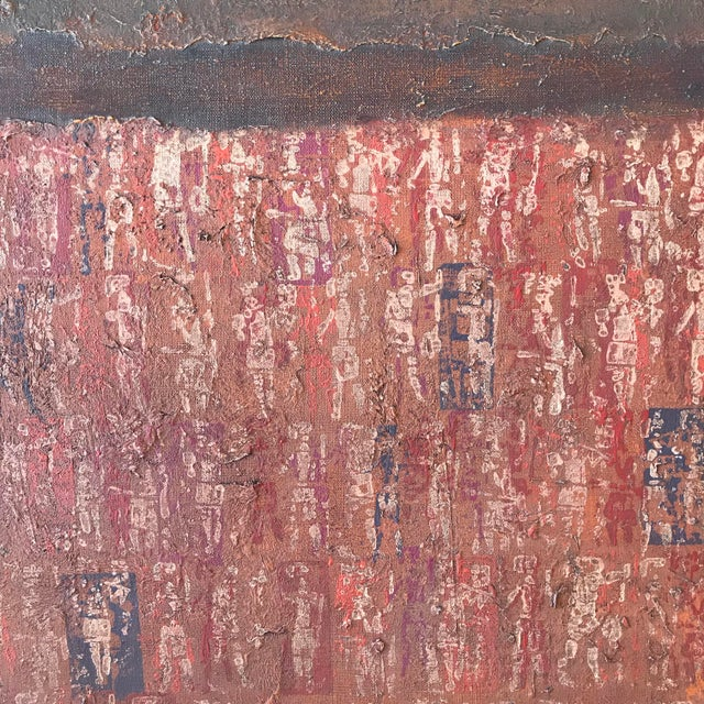 Stanley Bate, Untitled Painting, Circa 1960 For Sale In New York - Image 6 of 10