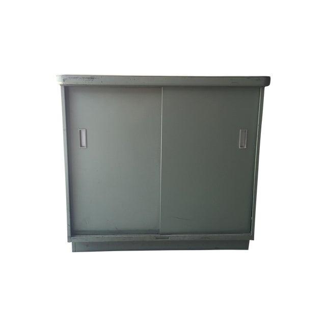 1950s Steel Case Cabinet - Image 1 of 5