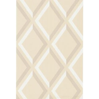Cole & Son Pompeian Wallpaper Roll - Beige/W For Sale