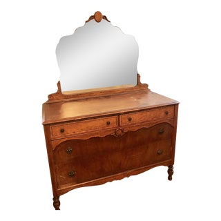 20th Century Traditional Mirrored Dresser For Sale
