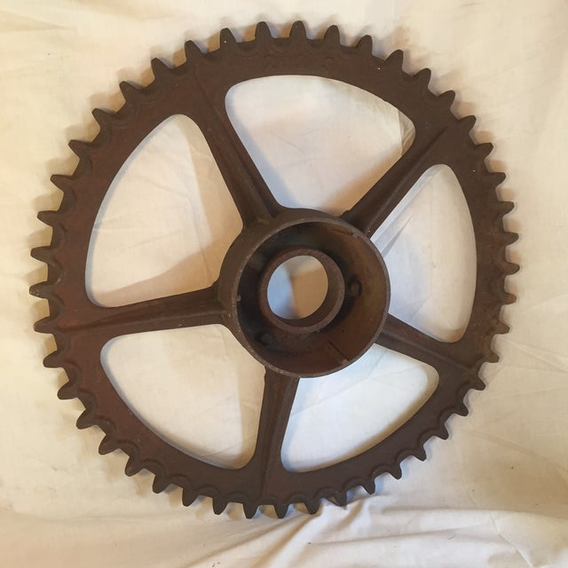 Antique California Gold Country Mining Sprocket - Image 5 of 7