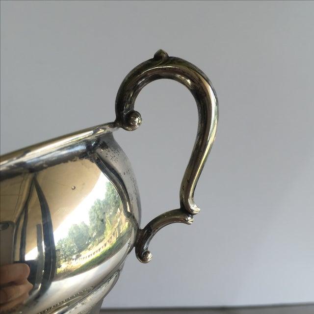 Sterling Silver Creamer, Sugar, & Spoon - Set of 3 - Image 4 of 5