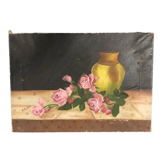 French 1950s Still Life Painting For Sale