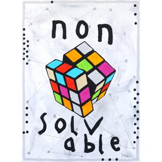 Nonsolvable - Original Artwork by Soren Grau For Sale