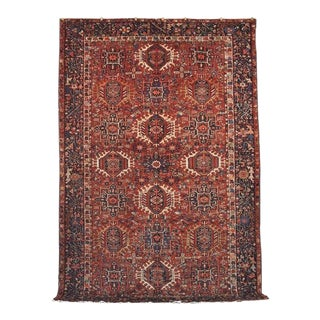 Vintage Persian Karajeh Tribal Rug For Sale