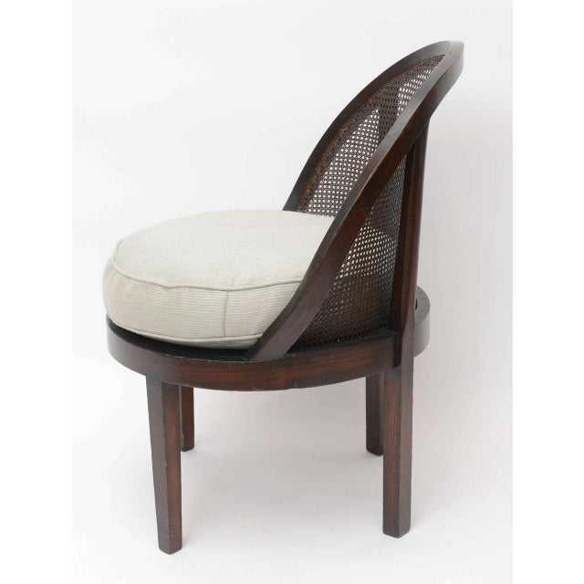 Distinctive Mahogany Cane Back Chair For Sale In Miami - Image 6 of 10