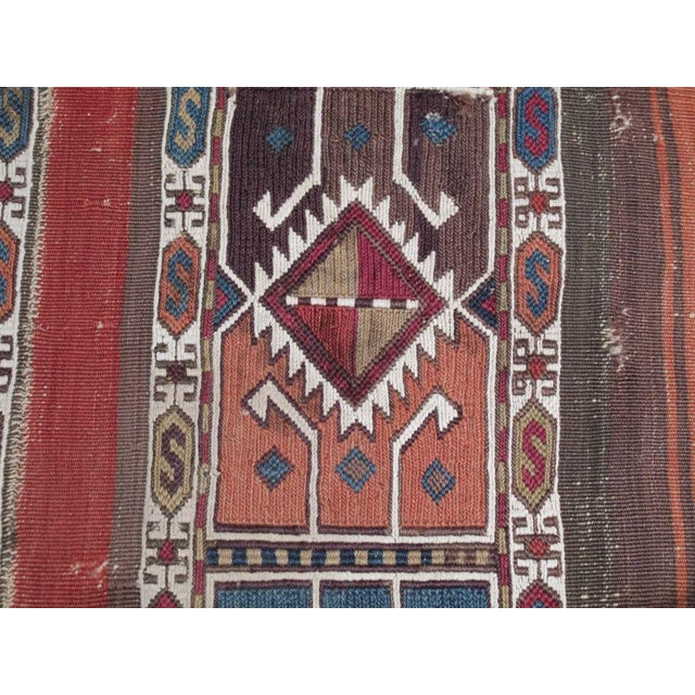 """Fabric Antique """"Grain Sack"""" (open) For Sale - Image 7 of 7"""