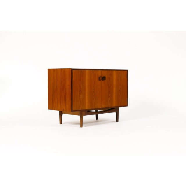 SHEILA - Please reach out (six two six) 353 - six four six zero #1134 — Danish Modern / Mid Century Teak Compact Credenza...