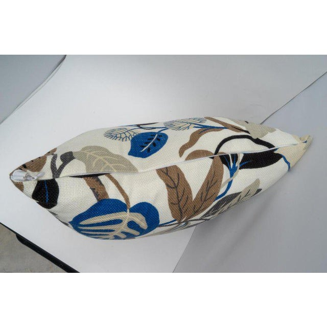 2010s Bespoke Floral Pillows - a Pair For Sale - Image 5 of 11