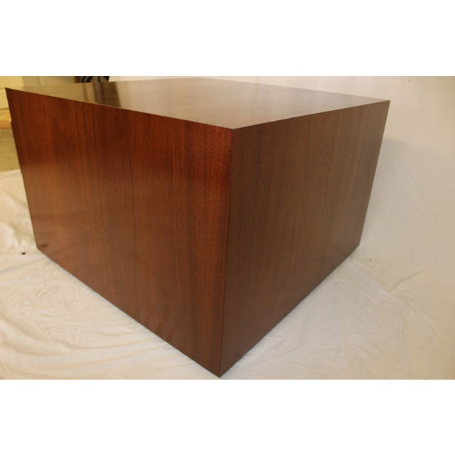 Milo Baughman Style Cube Coffee Table - Image 5 of 7