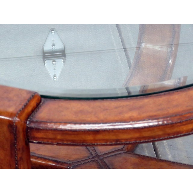Mid-Century Modern Mid-Century Modern Design Glass Top Coffee Table For Sale - Image 3 of 5