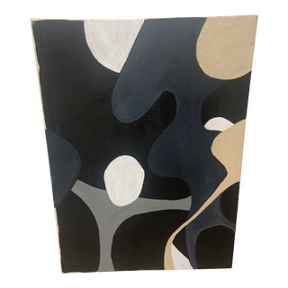 Contemporary Modernist Abstract Acrylic Painting by Ross Severson For Sale