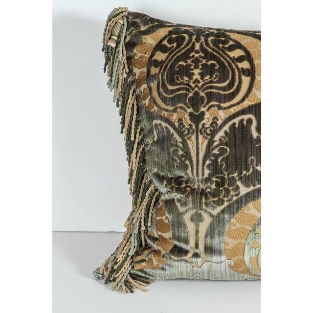 Traditional Luigi Bevilacqua Silk Velvet Pillows - a Pair For Sale - Image 4 of 7