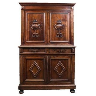 Early 19th Century Italian Walnut Dresser