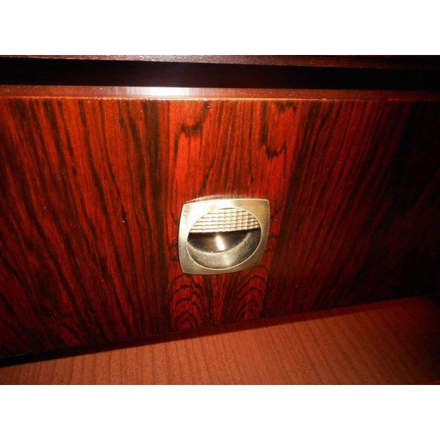 1970s Royal Board of Sweden Mid-Century Rosewood Credenza For Sale - Image 5 of 11