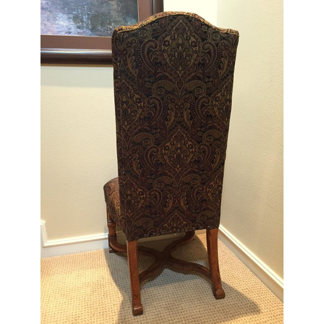 Stanley Upholstered Dining Chairs - Set of 8 - Image 5 of 6