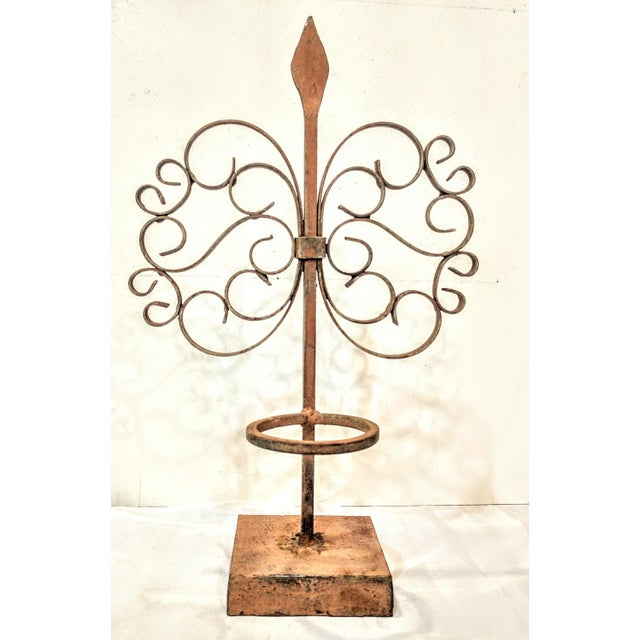 Gothic Wrought Iron Candle Holder - Image 2 of 7