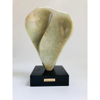 Noguchi Inspired Mid-Century Modern Abstract Biomorphic Marble Sculpture Preview