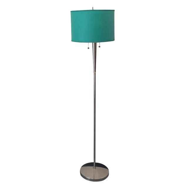 Mid-Century Chrome Floor Lamp - Image 1 of 5