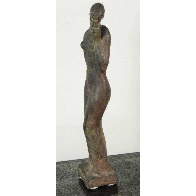 Art Deco Gladys Lewis Bush Bronze Sculpture For Sale - Image 3 of 8