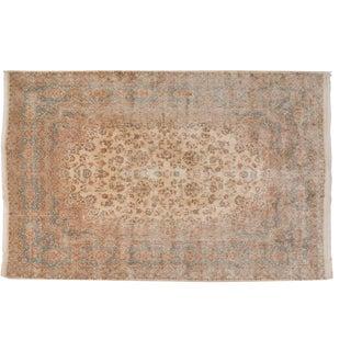 "Vintage Fragment Kerman Carpet - 11'3"" X 16'1"" For Sale"