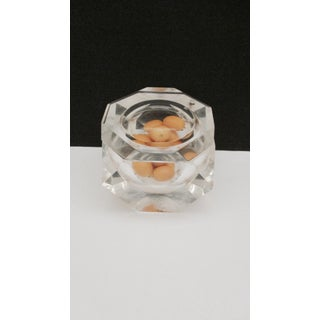 Alessandro Albrizzi Faceted Lucite Swivel Top Ice Bucket Preview