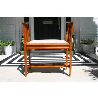 Directoire / Neoclassical Style Bench Preview