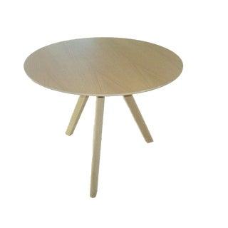 Danish Copenhague Cph20 Oak Veneer Dining Table For Sale