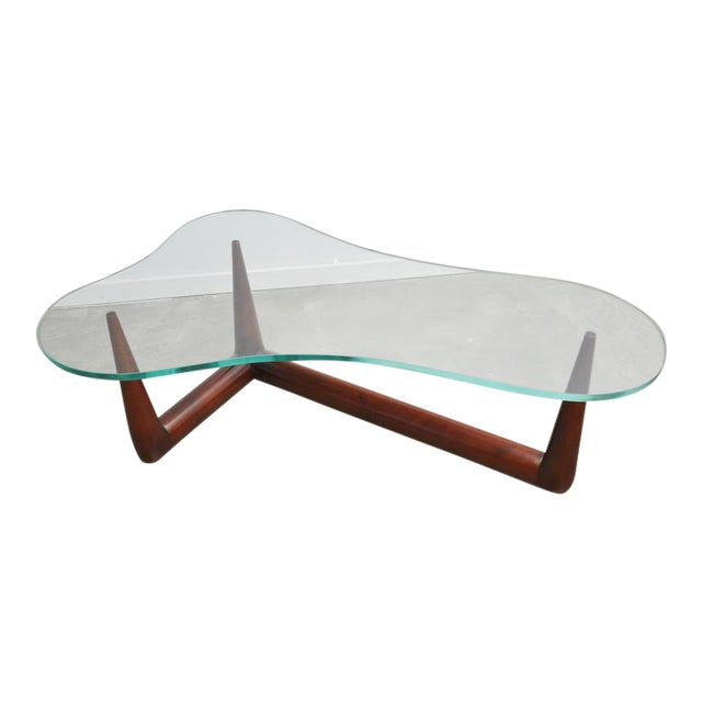 Biomorphic Coffee Table by T.H. Robsjohn Gibbings for Widdicomb - Image 1 of 6