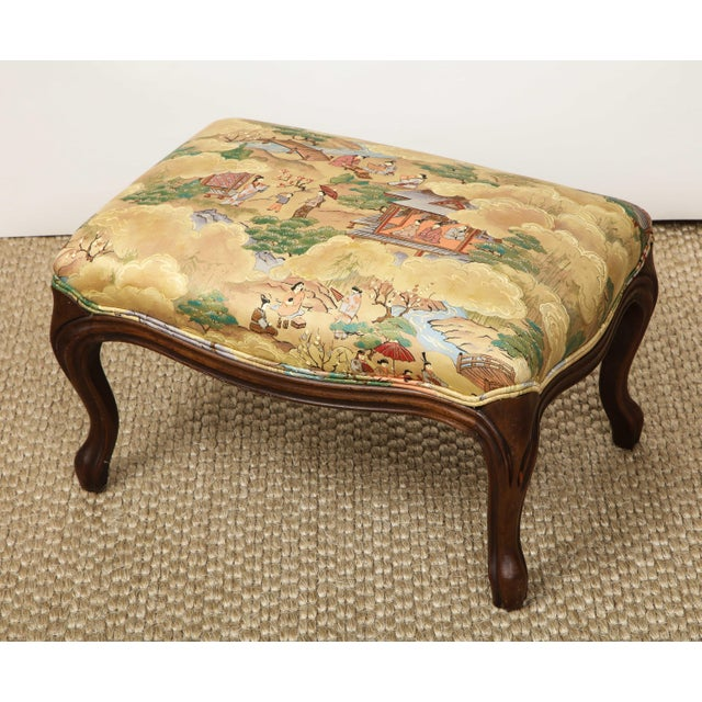 Small Louis XV Style Footstool For Sale - Image 9 of 10