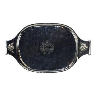 Georgian Sheffield Plate Oval Tray