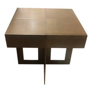 Modern Theodore Alexander Bloc Accent Table For Sale
