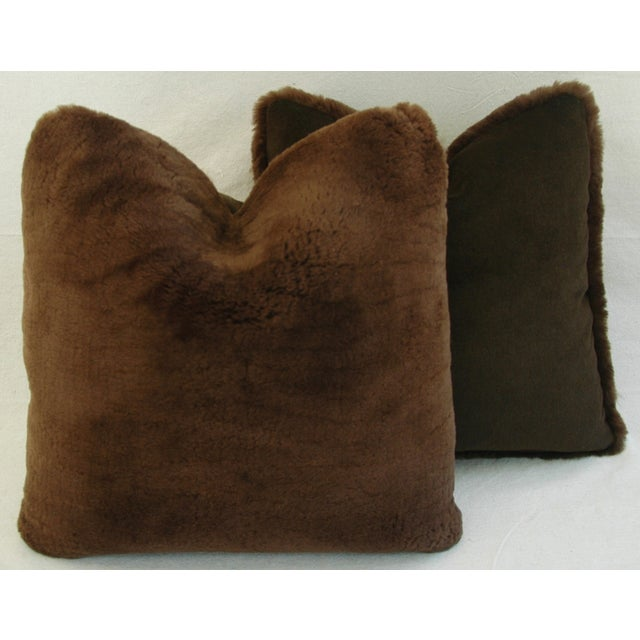 Pierre Frey Plush Lambswool Pillows - A Pair - Image 7 of 7