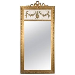 19th Century Louis XVI Style Trumeau Mirror For Sale