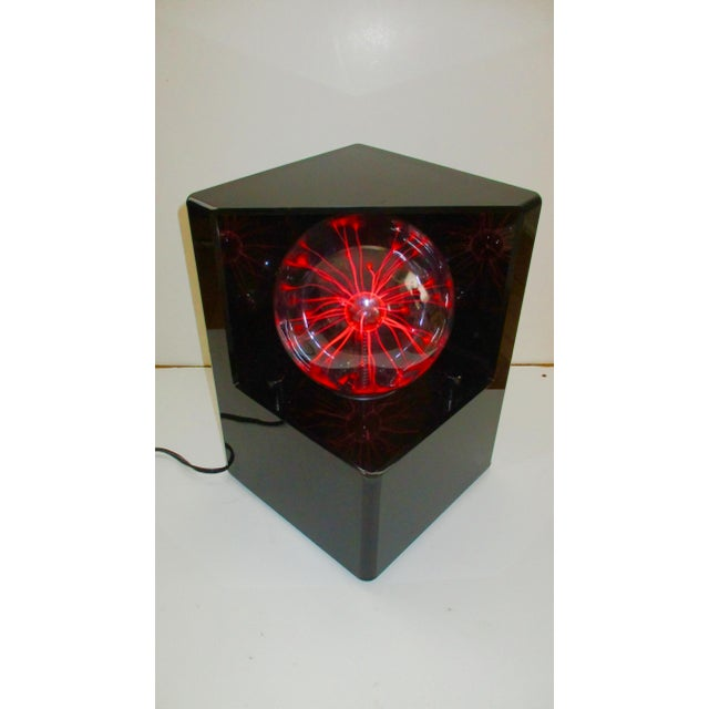 1980s Optic Illusion Table Lamp - Image 2 of 11